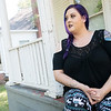 Globe/Roger Nomer<br /> Hawley La Turner talks about the night she witnessed her ex-husband's drug overdose during an interview on Thursday at her home in Webb City.