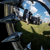 Globe/Roger Nomer<br /> Vistitors check out a truck called Murder Pete during the Big Truck Show on Friday.