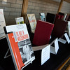 Globe/Roger Nomer<br /> Banned books are on display at Pittsburg State's Axe Library.