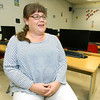 Miller High School business and computer science teacher Darrelle Hill talks about the advantages of a four-day school week on Wednesday at Miller High School. Hill has taught at Miller for 11 years and said she loves the four-day structure. Administrators said it is a valuable tool for both recruitment and retention of quality teachers.<br /> Globe | Laurie SIsk