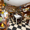 Nostalgic items fill one of several rooms at Maggie Mae's Tea Room in Miller.<br /> Globe | Laurie Sisk