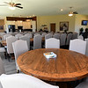 Ample seating for events fills one of two community buildings at Redwood Estates on Wednesday.<br /> Globe   Laurie Sisk