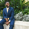 Nathaniel Simmons, secretary of Alpha Phi Alpha, is one of four members of the new fraternity at Pittsburg State University.<br /> Globe | Laurie Sisk