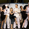 "The cast rehearses their roles during the Joplin Little Theatre production of the popular musical ""Anything Goes"" on Tuesday night at JLT.<br /> Globe 