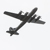 "The B-29 Bomber ""Fifi"" circles the Joplin Regional Airport on Monday as it prepares to land.<br /> Globe 