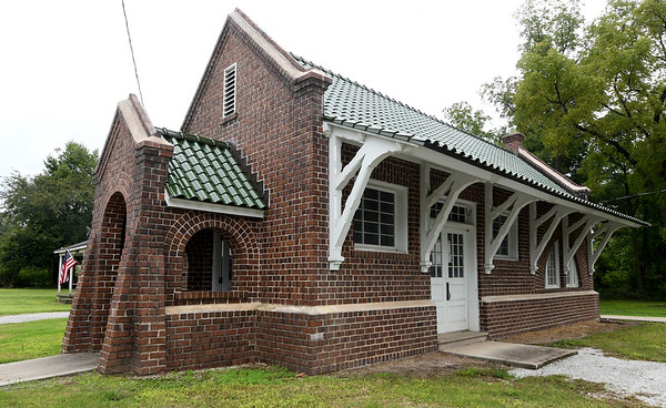 An old train depot still stands near downtown Oronogo and its restoration is to many a part of the city's vision for the future.<br /> Globe | Laurie Sisk