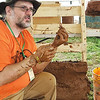 Uncle Mud (Chris McClellen) teaches people how to use natural resources to build things including pizza ovens, rocket mass heaters and even homes. Courtesy Photo