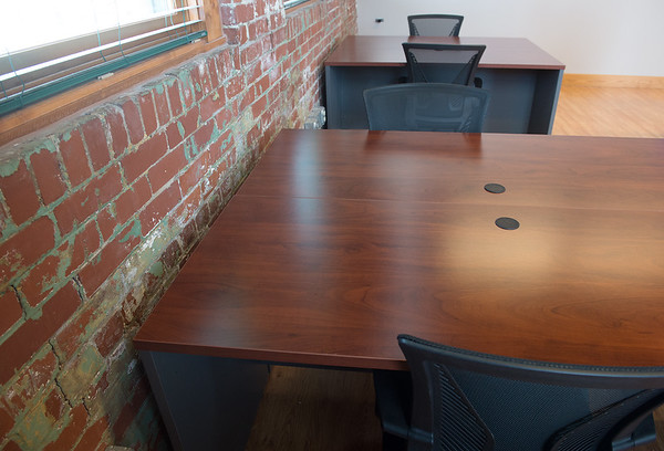 New co-working space is available at the Newman Innovation Center.<br /> Globe | Roger Nomer