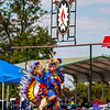 William Swaim/Wyandotte Nation<br /> Wyandotte Nation tribal citizen and fancy dancer Caleb Garcia competes during the annual Wyandotte Nation Pow-Wow.