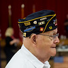 John Newberry was one of the members of American Legion Post 13 who was honored for his long-time service during Thursday's Veterans Expo at Joplin Memorial Hall.<br /> Globe | Roger Nomer