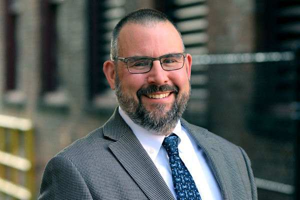 ADAM SHANKS — THE BERKSHIRE EAGLE <br /> North Adams Mayor-elect Thomas Bernard is preparing to take the city's helm in 2018.