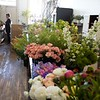 BEN GARVER — THE BERKSHIRE EAGLE<br /> Tuesday is the day fresh flowers are delivered to Township Four a floristry and home shop  co-owned by Jed Thompson and Nathan Hanford, North Street in Pittsfield.  Tuesday, April 16, 2019.