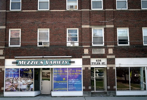 BEN GARVER — THE BERKSHIRE EAGLE<br /> Mezzie's Variety, Tyler Street, Wednesday, August 14, 2019.