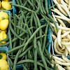 BEN GARVER — THE BERKSHIRE EAGLE<br /> Fresh green beans and baby squash from Farmer Don's Farm Stand on Housatonic Street in Lenox, Tuesday, September 3, 2019. Farmer Don Rawson grows the vegetables at the stand and some specialty items from local farms.