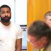 BEN GARVER — THE BERKSHIRE EAGLE<br /> Tyler Sumner, 25, of Adams was arraigned in Central Berkshire District Court on a single count of murder on Monday, September 30, 2019. Sumner was arrested in Adams on Saturday by Pittsfield Police, with assistance from Adams Police and North Adams Police. The charge is in connection with the Aug. 25 shooting on Columbus Avenue in Pittsfield, which killed 32-year-old Stephanie Olivieri. Nathaniel Green is defending Sumner.