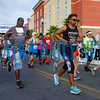 And the runners are off to a good start at the Beck 5K on Saturday morning. Fran Ruchalski/Palatka Daily News