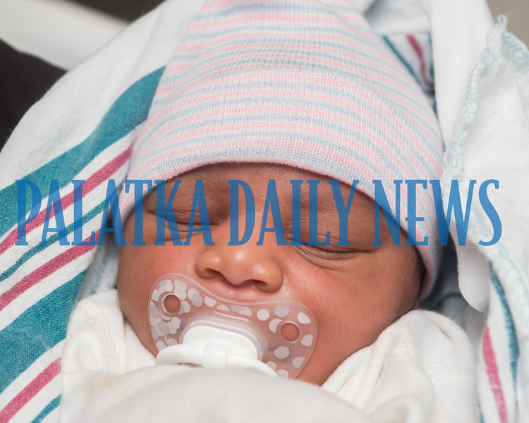 Newborn Joziah William Fuller was delivered at the Racetrack gas station with the help of Putnam County EMS personnel Tuesday afternoon. Fran Ruchalski/Palatka Daily News