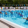 Taylor Morris leads a water exercise class at the Putnam Aquatics Center on Tuesday morning. The pool opened on Monday and will be open for community swimming weekdays until August 9th. In addition to the exercise sessions, there are swimming lessons, lap-swimming, and even float-in movie nights. Fran Ruchalski/Palaka Daily News