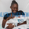 Kymara Boyd adjusts the blanket on her day-old son Joziah William Fuller at Putnam Community Medical Center. Fran Ruchalski/Palatka Daily News
