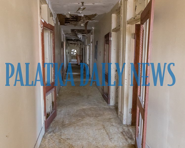 Third floor hallway of the Hotel James in downtown Palatka has hosted some notable people over the years. Fran Ruchalski/Palatka Daily News