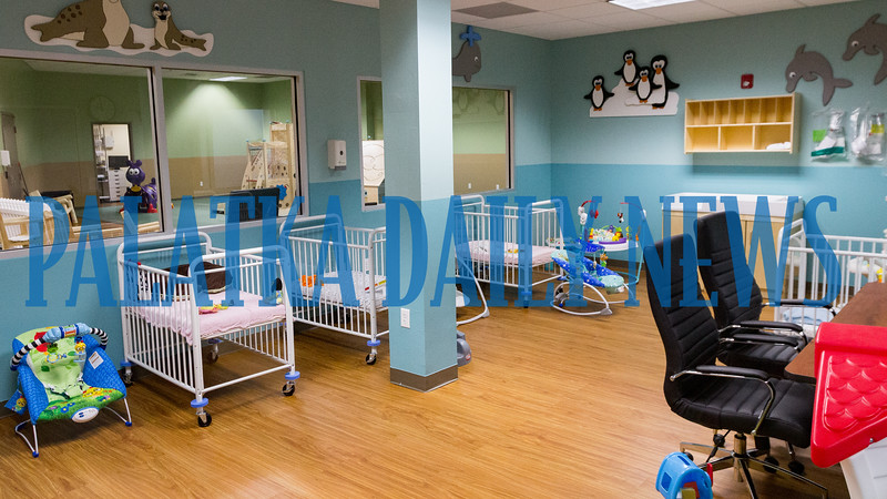 The nursery room in the new Tender Care Medical Services which will be opening in Palatka in early July, providing day care for special needs children. Fran Ruchalski/Palatka Daily News