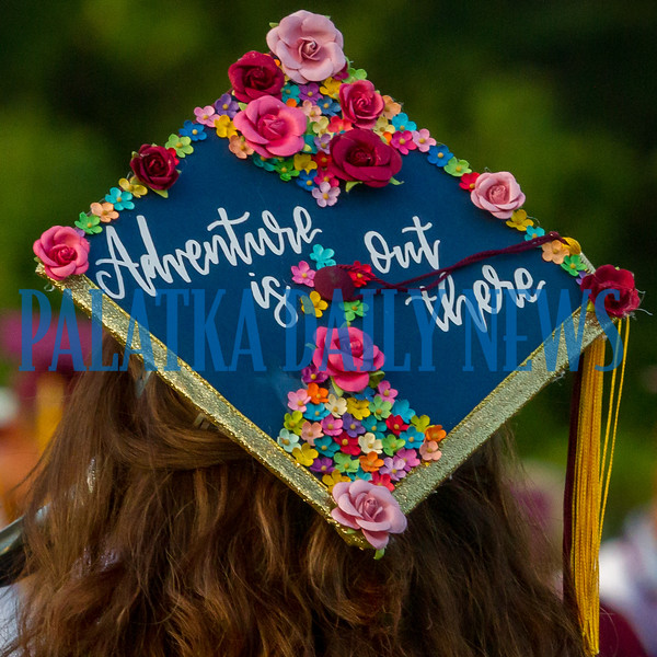 This Crescent City High School senior is hopeful that there is adventure waiting for her as she leaves high school. Fran Ruchalski/Palatka Daily News
