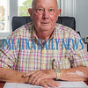 Interim City Manager Lee Garner sits at his desk in his new office in Palatka City Hall. Fran Ruchalski/Palatka Daily News