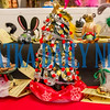 Some of the crafts available at the Palatka Art League for Christmas in July. The event continues on Saturday 10 a.m.-4 p.m. and Sunday noon-4 p.m. Fran Ruchalski/Palatka Daily News