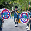 "The Coastal Florida Police & Fire Pipes & Drums performed ""Amazing Grace"" in memory of those who had fallen. Fran Ruchalski/Palatka Daily News"
