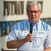 BOCC chairman Bill Pickens gives the remembrance address about his memories of 9/11. Fran Ruchalski/Palatka Daily News