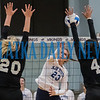 Freshman outside hitter Louisa Marunde (23)