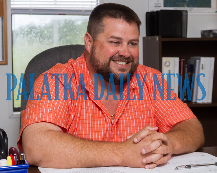 Jay Tilton, Putnam County's Sanitation and Solid Waste Director talks about his challenges and plans for improving landfill operations in the county. Fran Ruchalski/Palatka Daily News