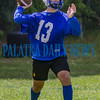 Interlachen quarterback Kaleb Wiggins (13) drops back to let go of a pass. Fran Ruchalski/Palatka Daily News