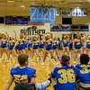 The cheerleaders get the party started at the PHS Homecoming Pep Rally Friday afternoon. Fran Ruchalski/Palatka Daily News