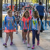 Students walk into Interlachen Elementary School on Monday morning on their first day of school. Fran Ruchalski/Palatka Daily News