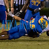 Palatka junior David Williams (34) takes down a Bolles ball carrier in the second quarter of their game against Bolles. Fran Ruchalski/Palatka Daily News