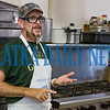 Bread of Life board member Ronald Tomas stands in the kitchen talking about the mission of the soup kitchen and the community that has rallied to support their efforts. Fran Ruchalski/Palatka Daily News