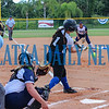 Peniel Baptist Academy hitter Rylee Romay swings and misses a second-inning pitch. Mark Blumenthal/Palatka Daily News