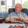 Interim City Manager Lee Garner talks about his career in the Army and as a city manager in several places over the years. Fran Ruchalski/Palatka Daily News