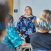 Professor Kim Van Vliet gives her students in Introduction to Biology the rundown on what to expect in the class on the first day at St. Johns River State College on Monday morning. Fran Ruchalski/Palatka Daily News