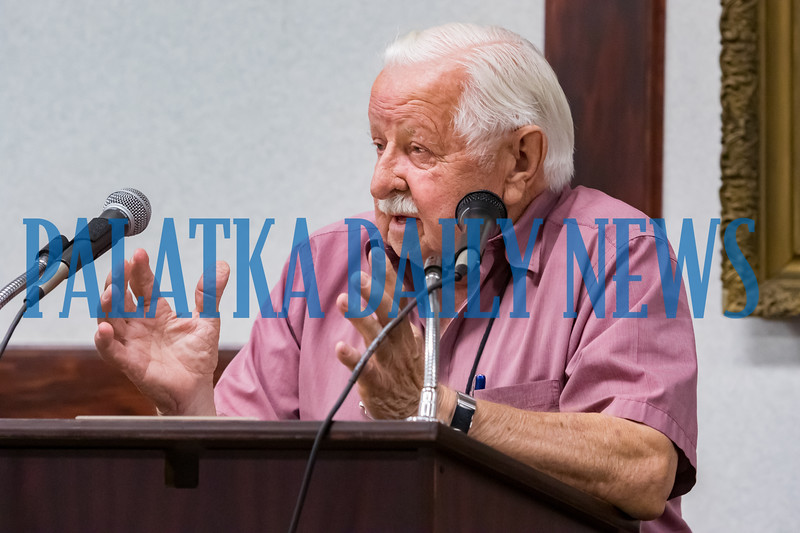Normand Jutras liked some of what he heard at the commission meeting, but thinks other alternatives should be considered. Fran Ruchalski/Palatka Daily News