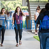 Students returned to St. Johns River State College for the start of their new semester on Monday morning. Fran Ruchalski/Palatka Daily News