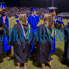 On their way up to receive their diplomas, the students were greeted and congratulated by teachers, administrators and school staff they'd had during their school careers. Fran Ruchalski/Palatka Daily News