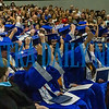 The tassels are moved after the graduation of the Class of 2019 was made official. Fran Ruchalski/Palatka Daily News