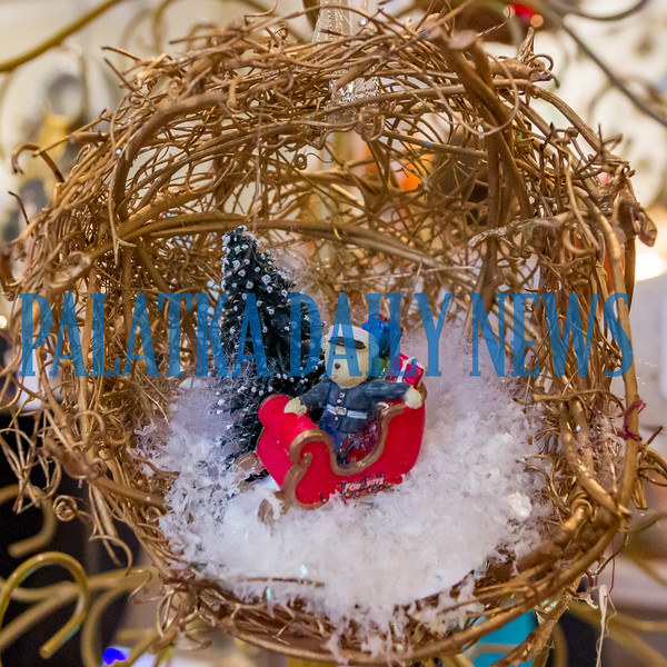 A sample of the crafts available at the Palatka Art League for Christmas in July. The event continues on Saturday 10 a.m.-4 p.m. and Sunday noon-4 p.m. Fran Ruchalski/Palatka Daily News