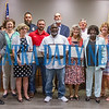 Five of the seven people chosen for the Product of Putnam honor are Karen Hughes, Sgt. D. J. Johnson, Bodie Dwyer, Jarvis Melton, Sr., and Susie Kline. Not pictured are Dr.   XXX  <br /> Fran Ruchalski/Palatka Daily News