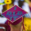 This Crescent City High School senior is just proud that he made it to graduation and he wanted everyone to know. Fran Ruchalski/Palatka Daily News