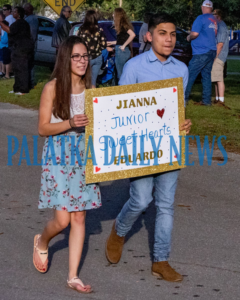 Some of the Sweethearts decided to walk in the parade instead of ride. Fran Ruchalski/Palatka Daily News