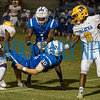 Palatka seniors William King (2) and DeShawn Shaw (8) combine to stop Clay sophomore Austin Dillon(30) in the second half. Fran Ruchalski/Palatka Daily News
