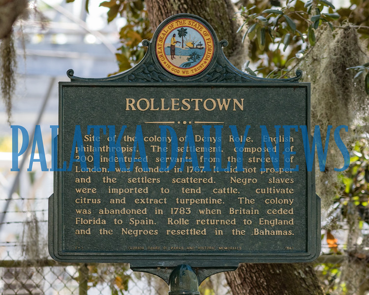 This Florida state historic marker in Wayside Park in East Palatka tells of a local connection to the Bahamas. Fran Ruchalski/Palatka Daily News